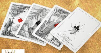Cartes à jouer ALMANAC # 1 de COTTA : une série historique 1
