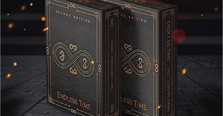 "Cartes à jouer ""Endless Time"" : version de luxe sur Kickstarter 1"