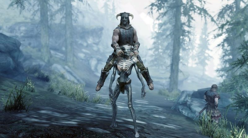 Ce mod Skyrim hilarant vous permet d'échanger votre cheval contre un draugr 1