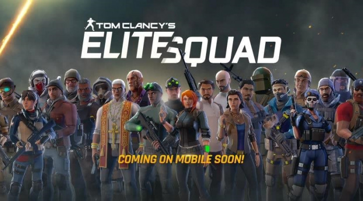 """Elite squad"" de Tom Clancy disponible en exclu ! 1"